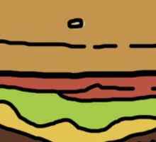 Bobs Burgers- Burger Sticker