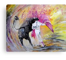 Passing Pink Canvas Print