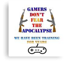 gamer v's apocalypse Canvas Print
