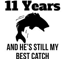11 Years Best Catch by GiftIdea