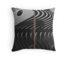 Hot, Thin Line Throw Pillow