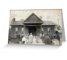 Mr. L.B. Bridges, (grandma Bridges family Francis Bridges - Sandifer) Greeting Card