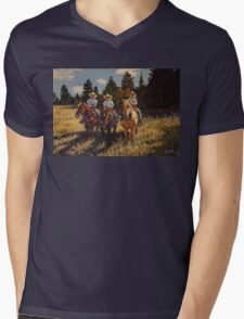 Aramis, Pathos and Athos~ The Grandsons Mens V-Neck T-Shirt