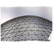 The Geodesic Dome Poster
