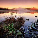 Loch Ard,  sunrise on Ben Lomond by David Mould
