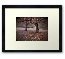 fallen fruit Framed Print