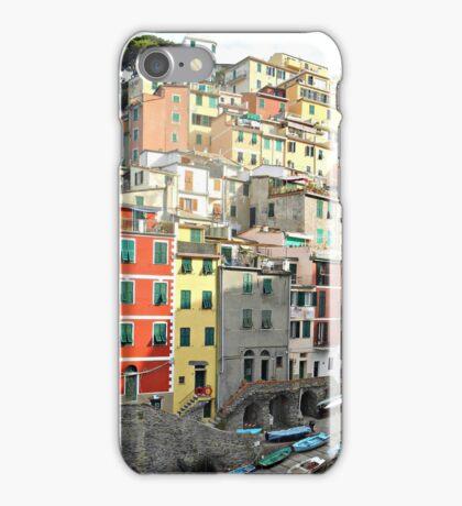 Cinque Terre Houses iPhone Case/Skin