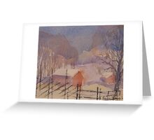 A perfect winter day I Greeting Card