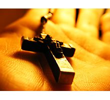 Cross in your hand Photographic Print