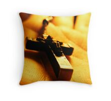 Cross in your hand Throw Pillow