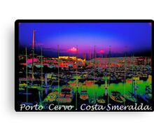 Porto Cervo . Costa Smeralda . by Brown Sugar 2003. Views (667)  thank you ! Canvas Print