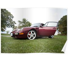Porsche Carrera 4s Poster