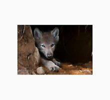 Timber Wolf Pup in Den T-Shirt
