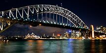 Harbour Bridge at Night by sharon2121