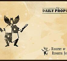 Daily Prophet - Reporter by ASCasanova