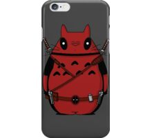 Toto Deadpool iPhone Case/Skin