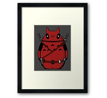 Toto Deadpool Framed Print