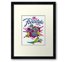 Freestyle Framed Print