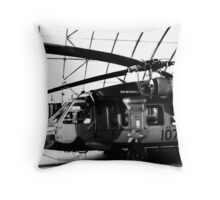 blackhawk : tethered Throw Pillow