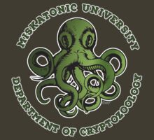 Cthulhu Tee- Cryptozoology Dept. by KennefRiggles