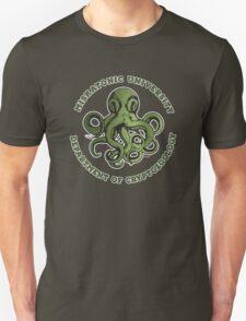 Cthulhu Tee- Cryptozoology Dept. Unisex T-Shirt