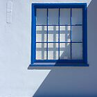 Blue Window by Edmond Leung