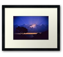 """ Ave Maria ""  sanrise  landscape  -  Zakintos . Greece. by  Brown Sugar. Views (719). Favs (5) . Thanks friends !!!!!! Framed Print"