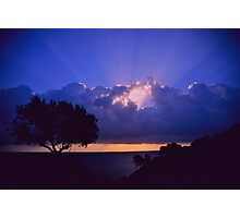 """ Ave Maria ""  sanrise  landscape  -  Zakintos . Greece. by  Brown Sugar. Views (719). Favs (5) . Thanks friends !!!!!! Photographic Print"