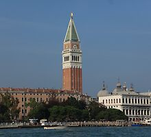 St Marks Square - Campanile Di San Marco by Mark Baldwyn