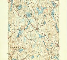 Massachusetts  USGS Historical Topo Map MA Paxton 352049 1941 31680 by wetdryvac