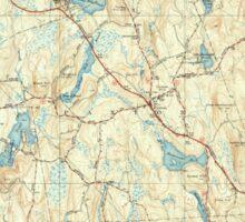 Massachusetts  USGS Historical Topo Map MA Paxton 352049 1941 31680 Sticker