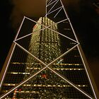 Bank of China Reflection by Stephen Tapply