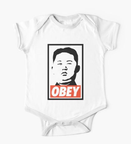 Obey Kim Jong Un One Piece - Short Sleeve