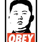 Obey Kim Jong Un by Zakmacattack