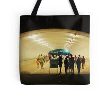tunnel pedestrians Tote Bag