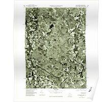 Massachusetts  USGS Historical Topo Map MA Blackstone 350854 1977 25000 Poster