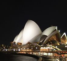 'Opera at Night' - Sydney by sparkographic