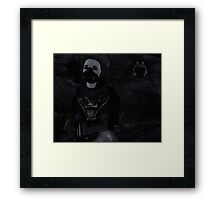 Star gazing with ED-E Framed Print