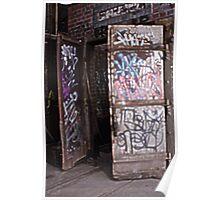 Graffiti Doors Poster
