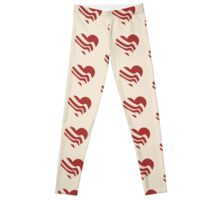 BACON heart Leggings