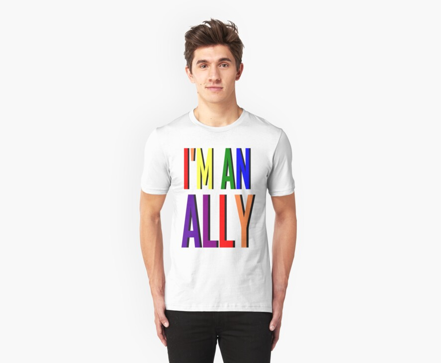I'm an Ally by SocJusticeInk