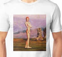 Nude Standing by Mary Bassett Unisex T-Shirt