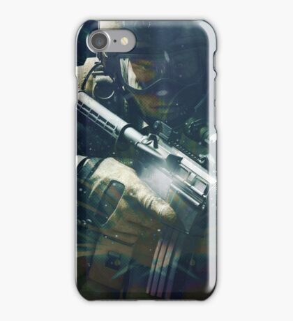 Space soldier #2 iPhone Case/Skin