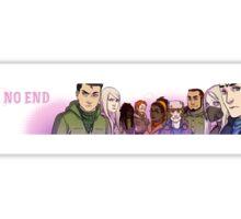 No End Cast Sticker