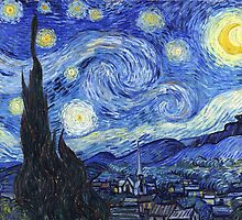 Vincent Van Gogh - Starry Night by lifetree