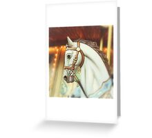 carousel horse 1 Greeting Card