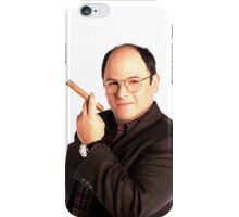 George Constanza with cigar  iPhone Case/Skin