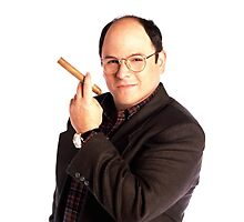 George Constanza with cigar  by Zakmacattack