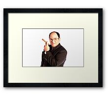 George Constanza with cigar  Framed Print