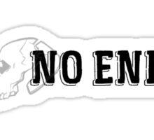 No End Logo Sticker